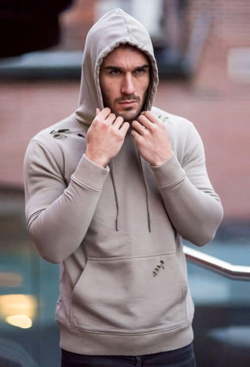 2a2d53f6 Gym King Distressed Pull Over Hoodie - Fungi | Lost Rockstar