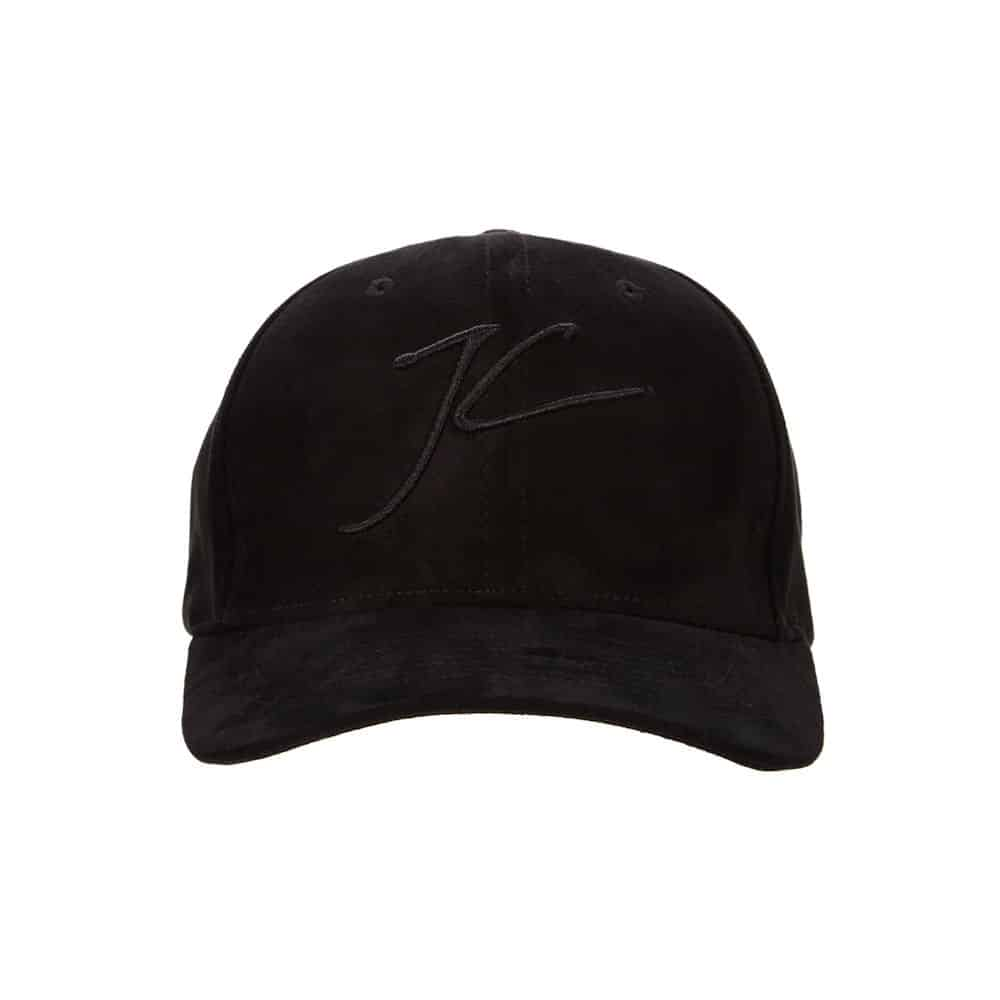 c649acc547c Jameson Carter Signature Suede Trucker Cap - Blackout