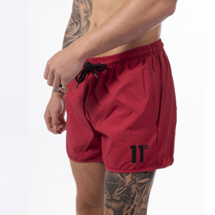 1a912c2ea6 11 Degrees Core Swim Shorts in Inferno Red