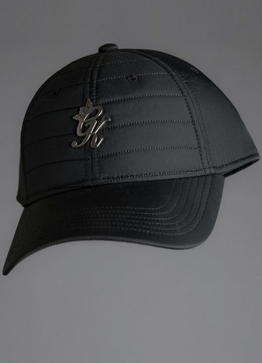 35935b27c Gym King Quilted Cap in Black